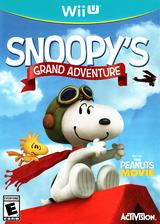 The Peanuts Movie: Snoopy's Grand Adventure WiiU cover (BPEE52)