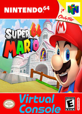 Super Mario 64 VC-N64 cover (NABE)