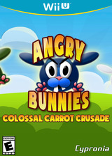 Angry Bunnies: Colossal Carrot Crusade eShop cover (WBEE)