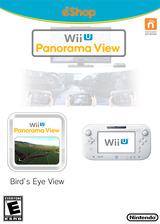 Wii U Panorama View: Bird's-Eye View eShop cover (WETE)