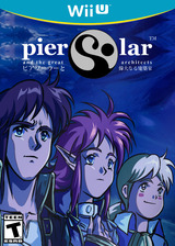 Pier Solar and the Great Architects eShop cover (WGAE)