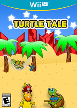 Turtle Tale eShop cover (WK8E)