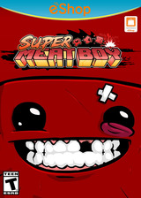 Super Meat Boy eShop cover (AENE)