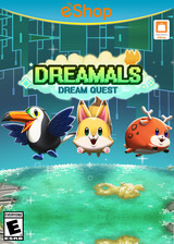 Dreamals - Dream Quest eShop cover (AQBE)