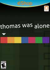 Thomas Was Alone eShop cover (BTWE)