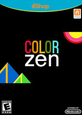 Color Zen eShop cover (WCZE)