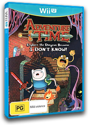 Adventure Time: Explore the Dungeon Because I DON'T KNOW! WiiU cover (ADVPAF)