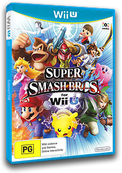Super Smash Bros. for Wii U WiiU cover (AXFP01)
