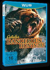 Cabela's Dangerous Hunts 2013 WiiU cover (ACAP52)