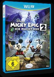 Disney Micky Epic: Die macht der 2 WiiU cover (AEMP4Q)