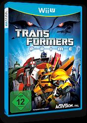 Transformers Prime: The Game WiiU cover (ATRP52)