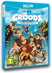 The Croods: Prehistoric Party! WiiU cover (ACRPAF)