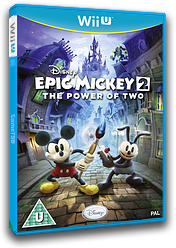 Disney Epic Mickey 2: The Power of Two WiiU cover (AEMP4Q)