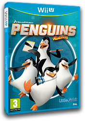 Penguins of Madagascar WiiU cover (APGPVZ)