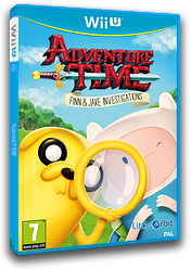 Adventure Time: Finn & Jake Investigations WiiU cover (BFNPVZ)