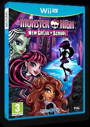 Monster High: New Ghoul in School WiiU cover (BMSPVZ)