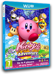 Kirby's Adventure Wii eShop cover (VADP)