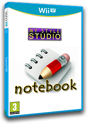 My Style Studio: Notebook eShop cover (WBKP)
