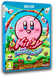 Kirby y el Pincel Arcoiris WiiU cover (AXYP01)