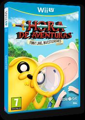 Hora de aventuras: Finn y Jake, investigadores WiiU cover (BFNPVZ)