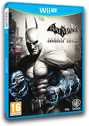 Batman Arkham City: Armoured Edition pochette WiiU (ABTPWR)