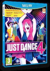 Just Dance 4 pochette WiiU (AJDP41)