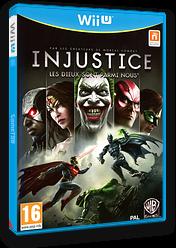 Injustice:Les Dieux Sont Parmi Nous pochette WiiU (AJSPWR)