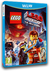 The LEGO Movie Videogame pochette WiiU (ALAPWR)