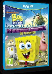Bob l'éponge:La vengeance robotique de Plankton pochette WiiU (AS5P52)