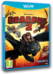 How to Train Your Dragon 2 pochette WiiU (ATDPVZ)