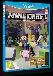 Minecraft: Wii U Edition pochette WiiU (AUMPDU)