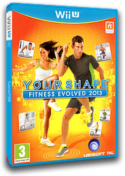 Your Shape: Fitness Evolved 2013 pochette WiiU (AYSP41)