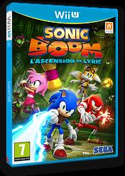 Sonic Boom:L'Ascension De Lyric pochette WiiU (BSSP8P)