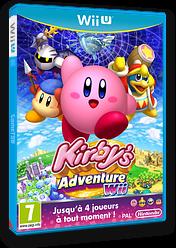 Kirby's Adventure Wii pochette eShop (VADP)
