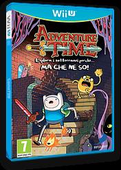 Adventure Time: Esplora i sotterranei perché MA CHE NE SO! WiiU cover (ADVPAF)