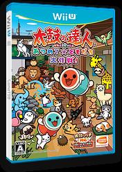 太鼓の達人 あつめて★ともだち大作戦! WiiU cover (BT3JAF)
