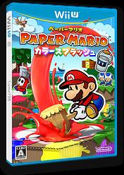 ペーパーマリオ カラースプラッシュ WiiU cover (CNFJ01)