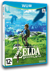 The Legend of Zelda: Breath of the Wild WiiU cover (ALZP01)