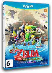 The Legend of Zelda: The Wind Waker HD WiiU cover (BCZP01)