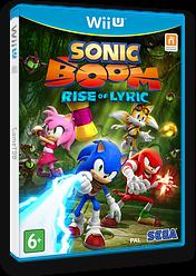 Sonic Boom: Rise of Lyric WiiU cover (BSSP8P)