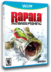 Rapala Pro Bass Fishing WiiU cover (ABFE52)