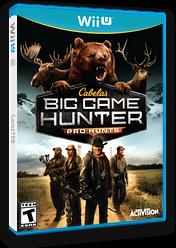 Cabela's Big Game Hunter: Pro Hunts WiiU cover (ACEE52)