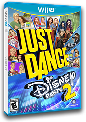 Just Dance Disney Party 2 WiiU cover (ADPE41)