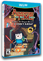 Adventure Time: Explore the Dungeon Because I DON'T KNOW! WiiU cover (ADVEG9)