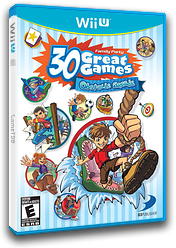Family Party: 30 Great Games Obstacle Arcade WiiU cover (AFPEG9)