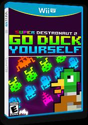Super Destronaut 2: Go Duck Yourself eShop cover (AJNE)