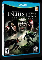 Injustice: Gods Among Us WiiU cover (AJSEWR)