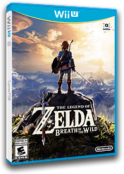 The Legend of Zelda: Breath of the Wild WiiU cover (ALZE01)