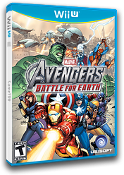 Marvel Avengers: Battle for Earth WiiU cover (AMVE41)