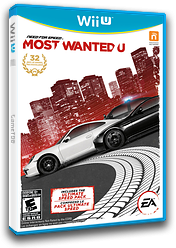 Need for Speed: Most Wanted U WiiU cover (ANSE69)